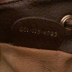 Gucci Bags - Antique Bucket Vintage GG Canvas Cross Body Bag